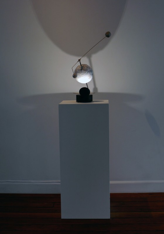 """Fall of Rome 476 - Electro Mechanical Sculpture - 23"""" x 23"""" x 8"""""""